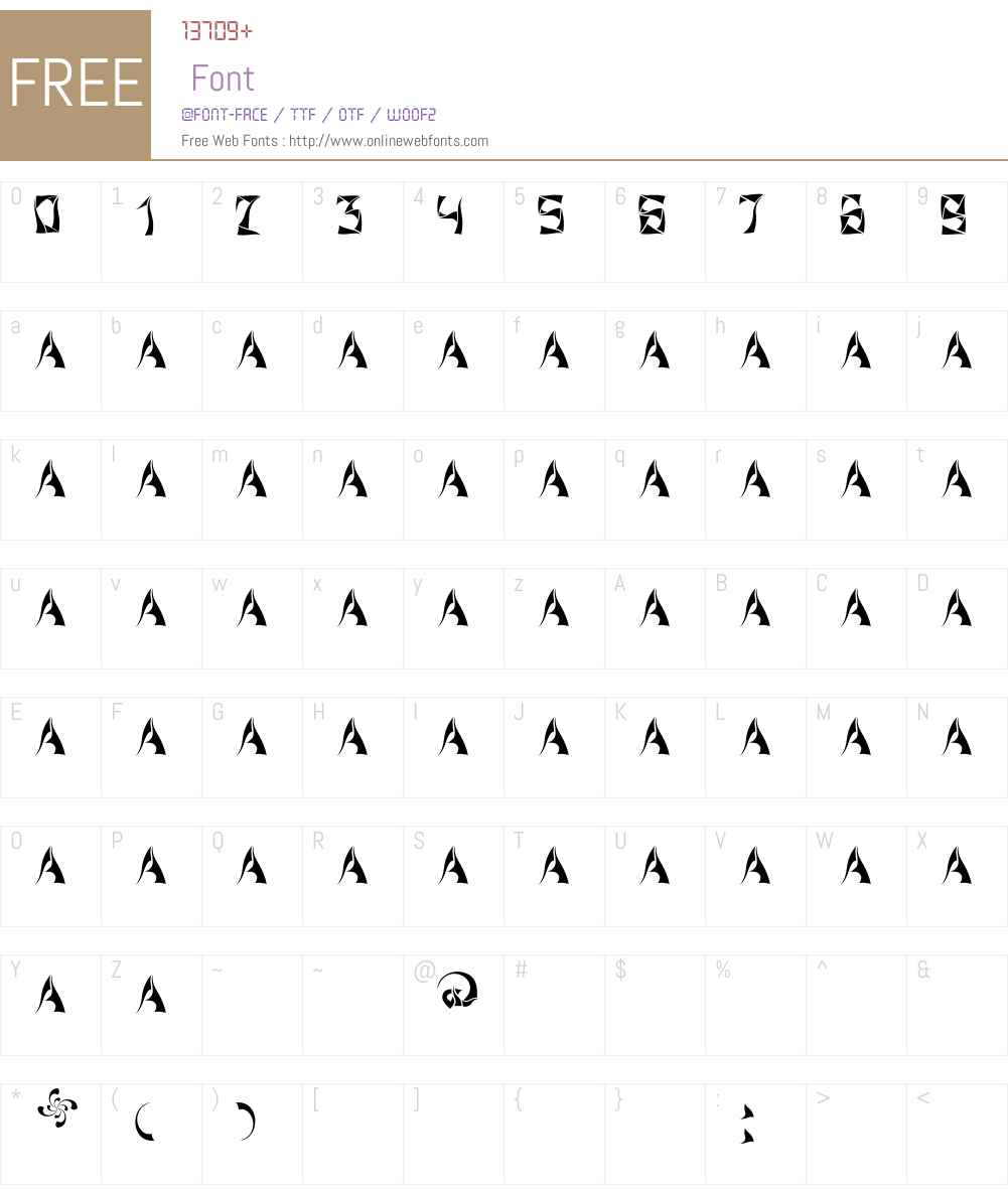 Xorx_windy Cyr Font Screenshots