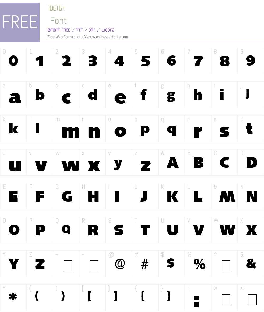 Lansette Display SSi Font Screenshots