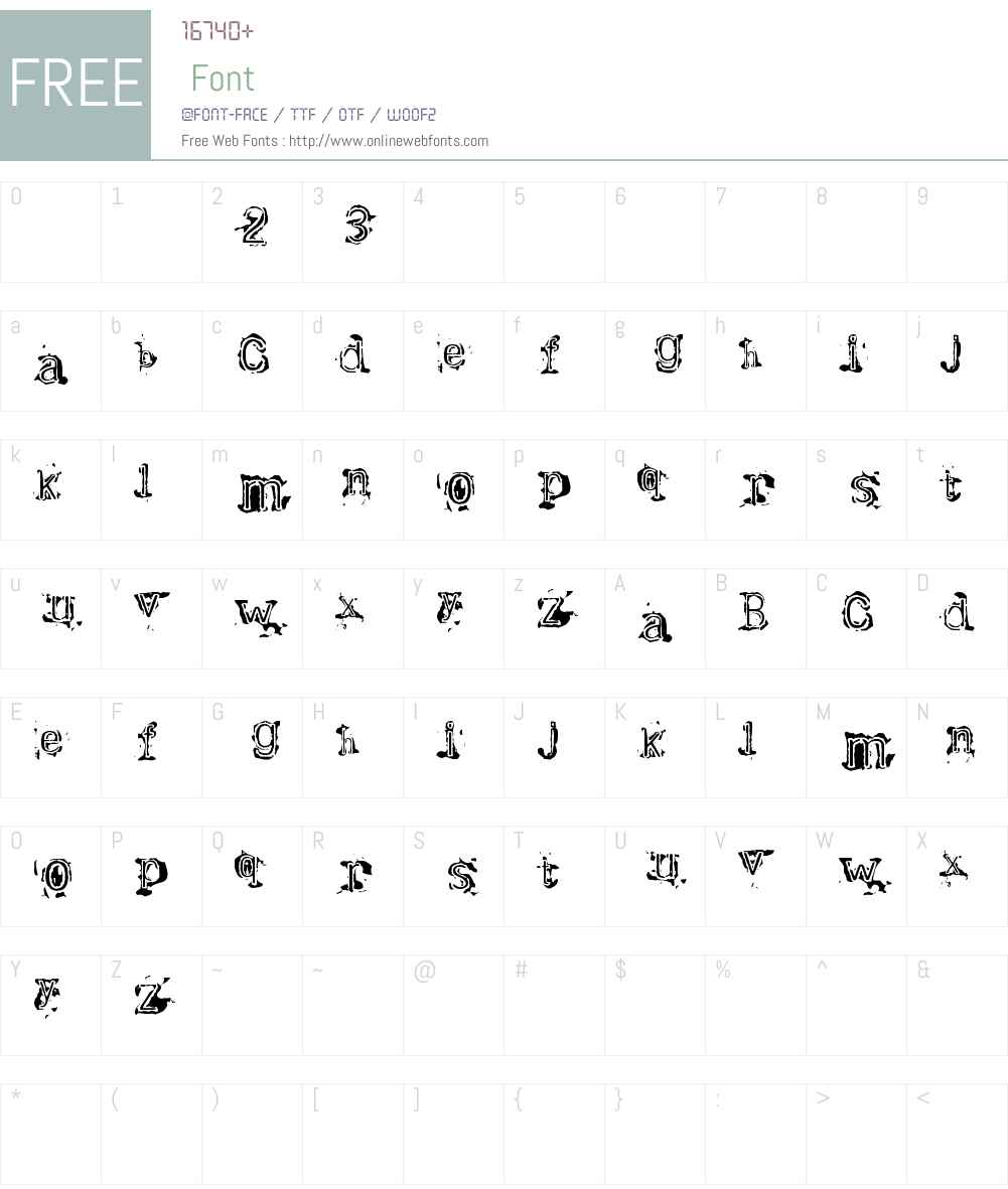 Bracille Font Screenshots