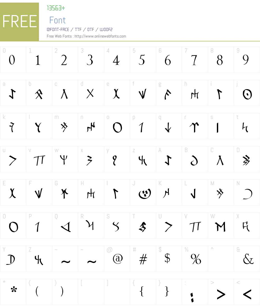 Orkun F?ra Font Screenshots