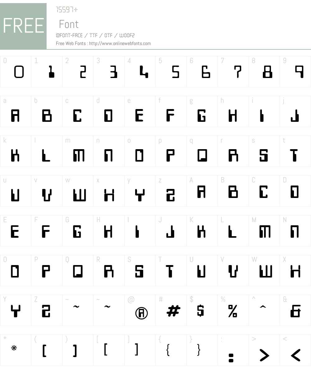 Micr Font Screenshots