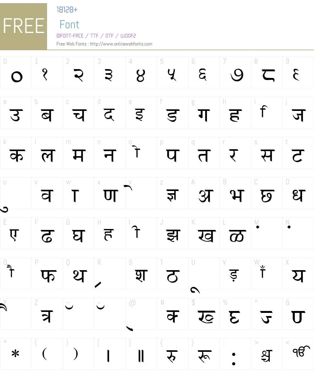 GurbaniHindi Font Screenshots