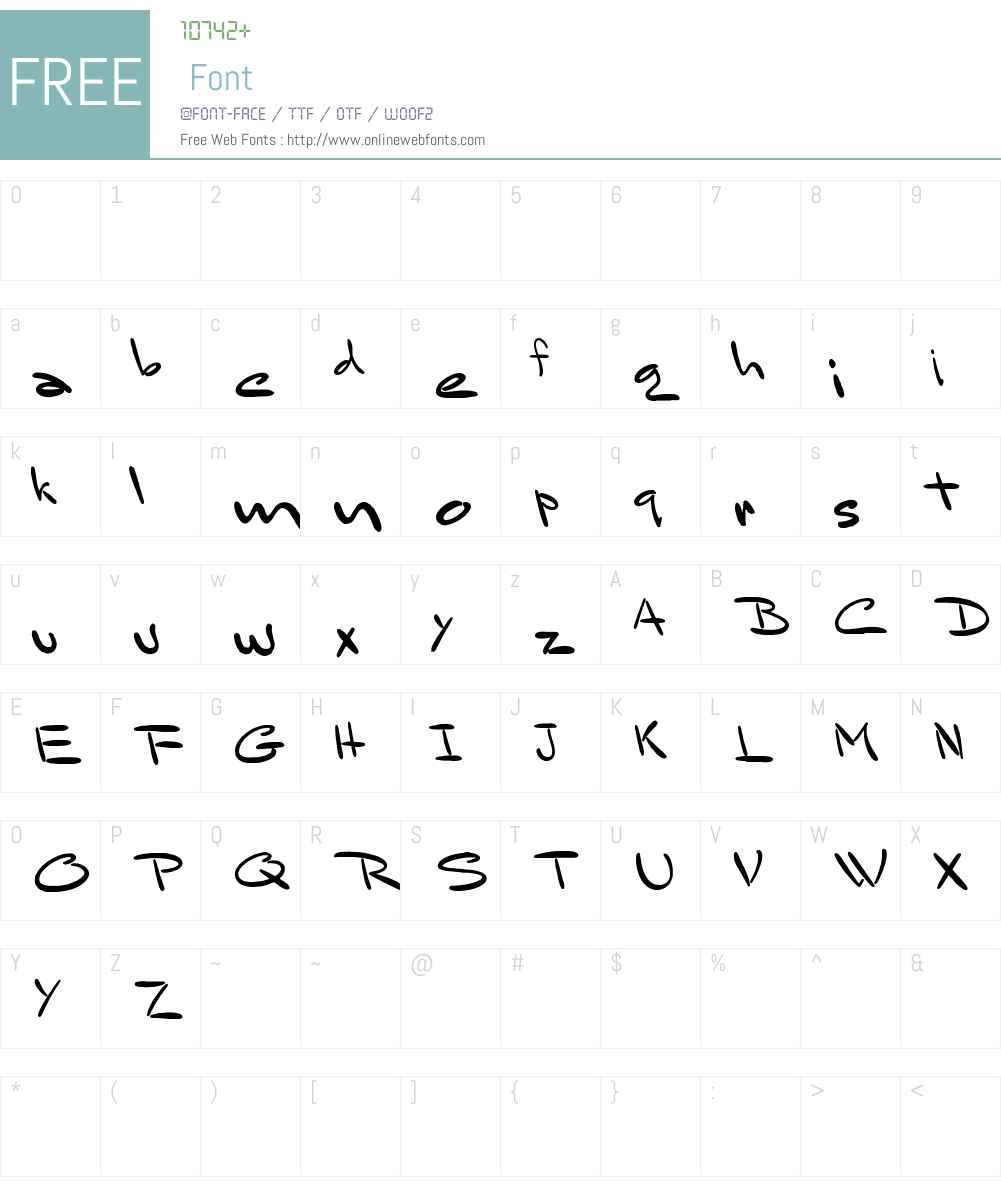 Bluelmin Sandsfort Font Screenshots