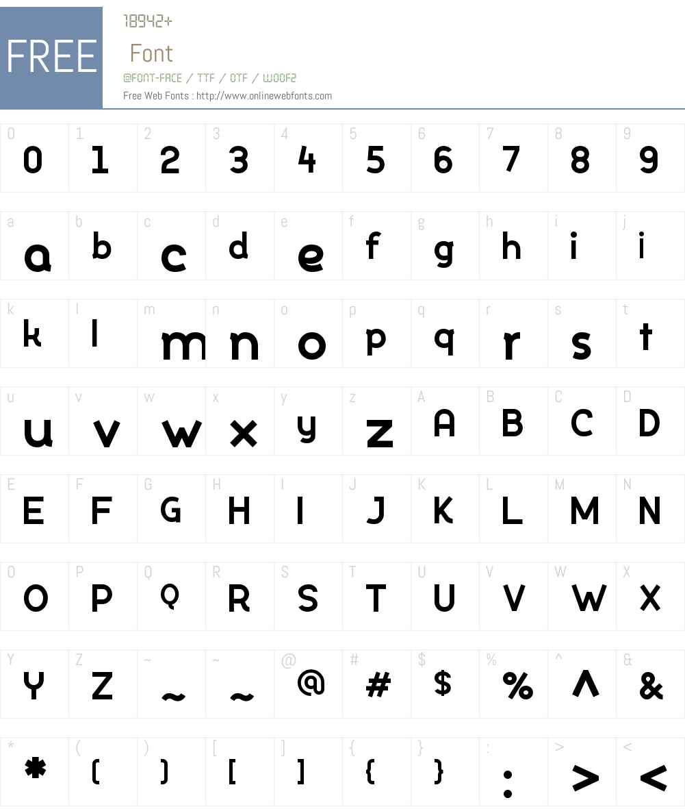 Silo-ExtraBold Font Screenshots