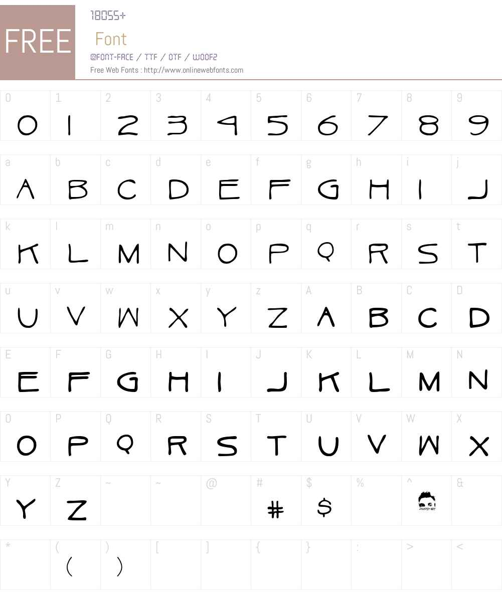 Ukulele Font Screenshots