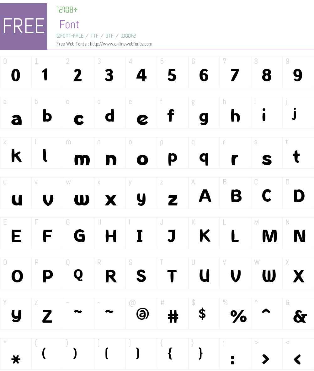 LTInagur Font Screenshots