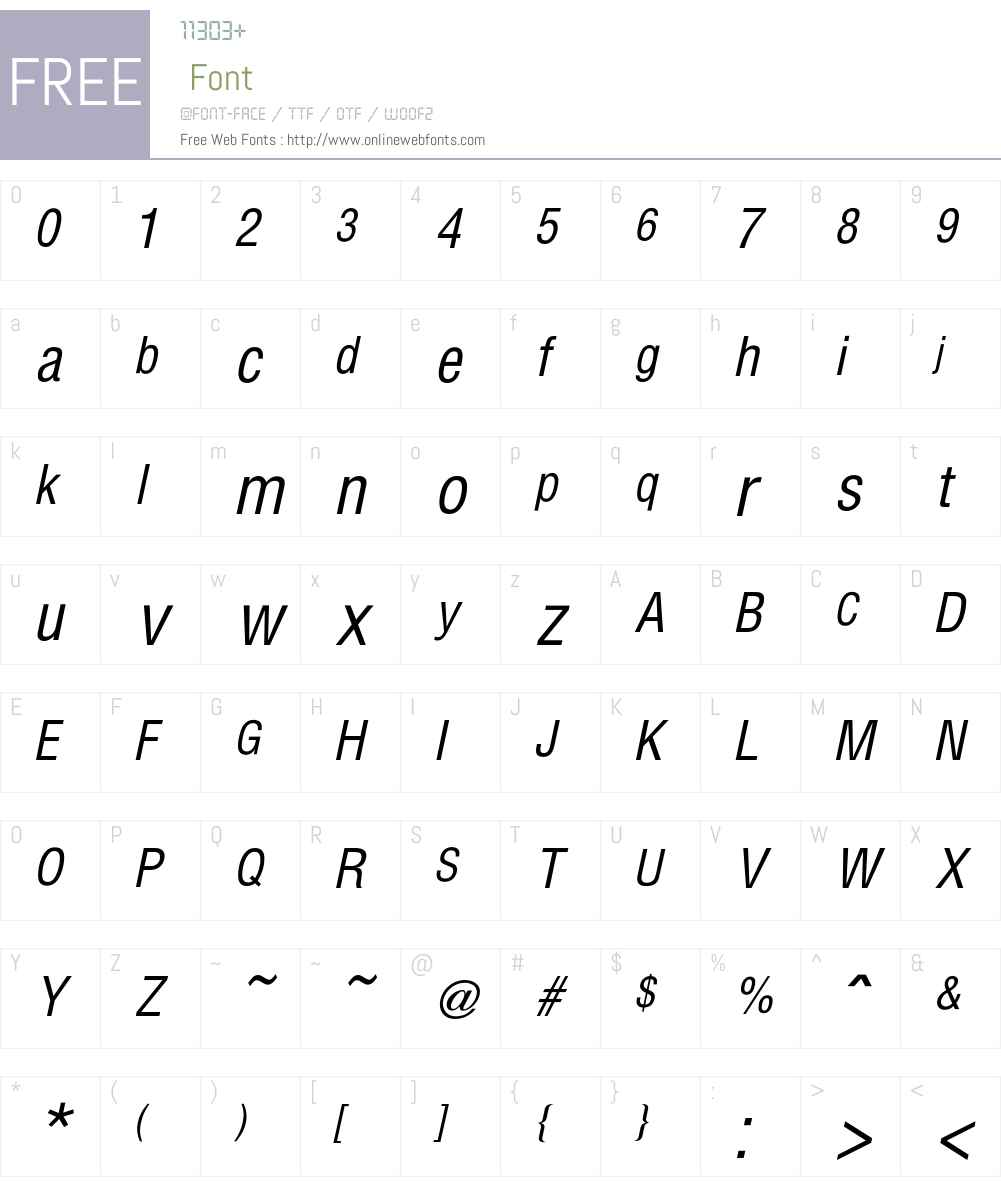 Hallmarke Font Screenshots