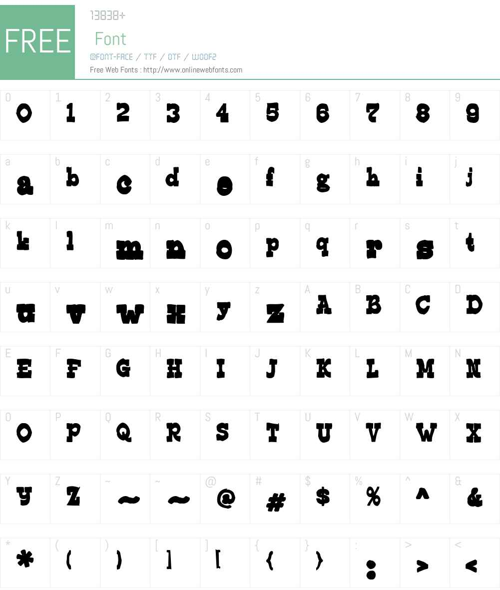 Edmunds Ink Font Screenshots