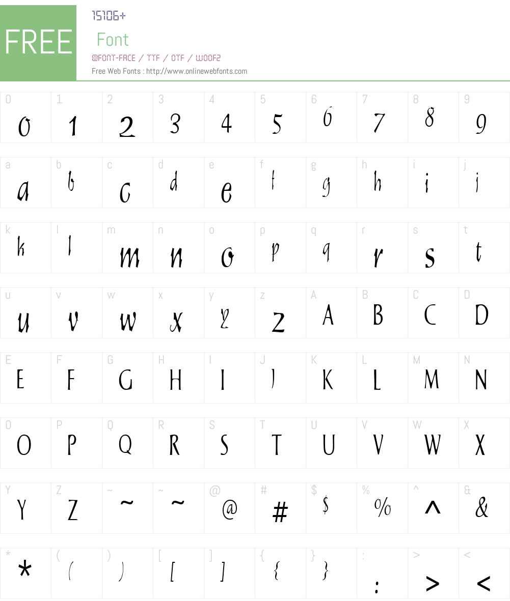 Staehle Graphia Font Screenshots