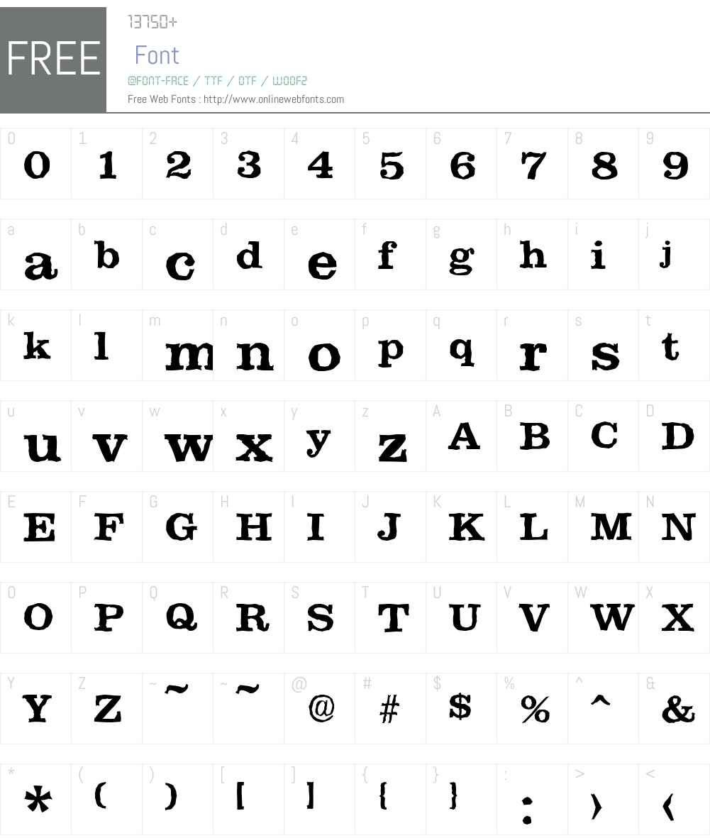 ClareAntique Font Screenshots