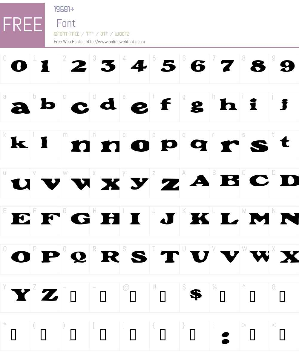GrantExtended Font Screenshots