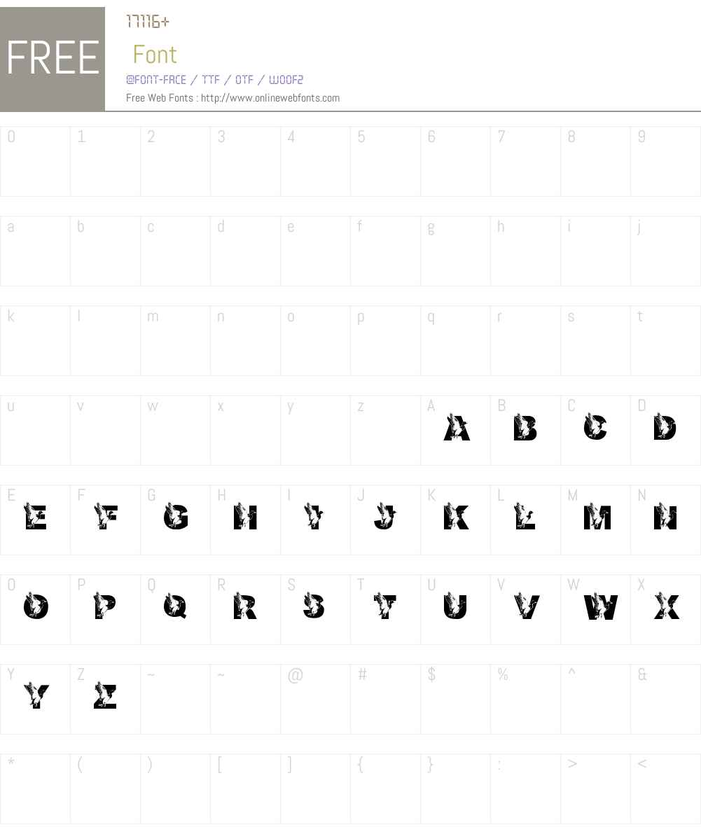 New Font Screenshots