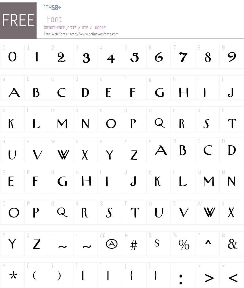 New Yorker Font Screenshots