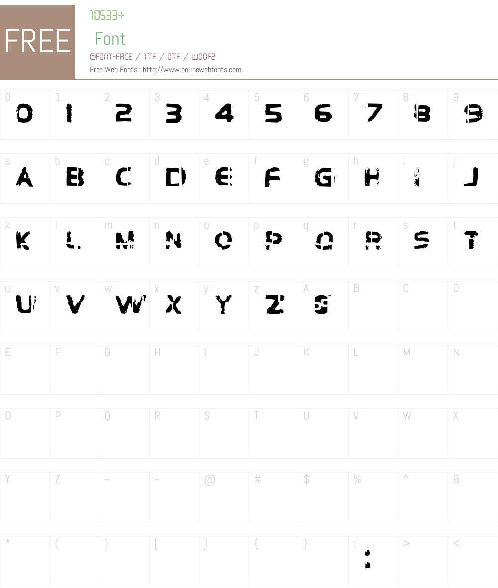 Brockelmann Font Screenshots