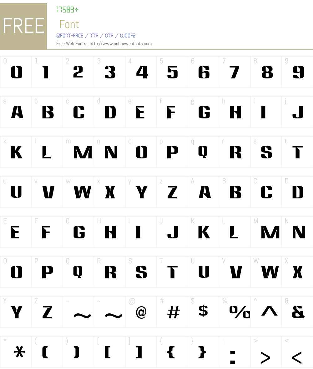 Anklepants Font Screenshots