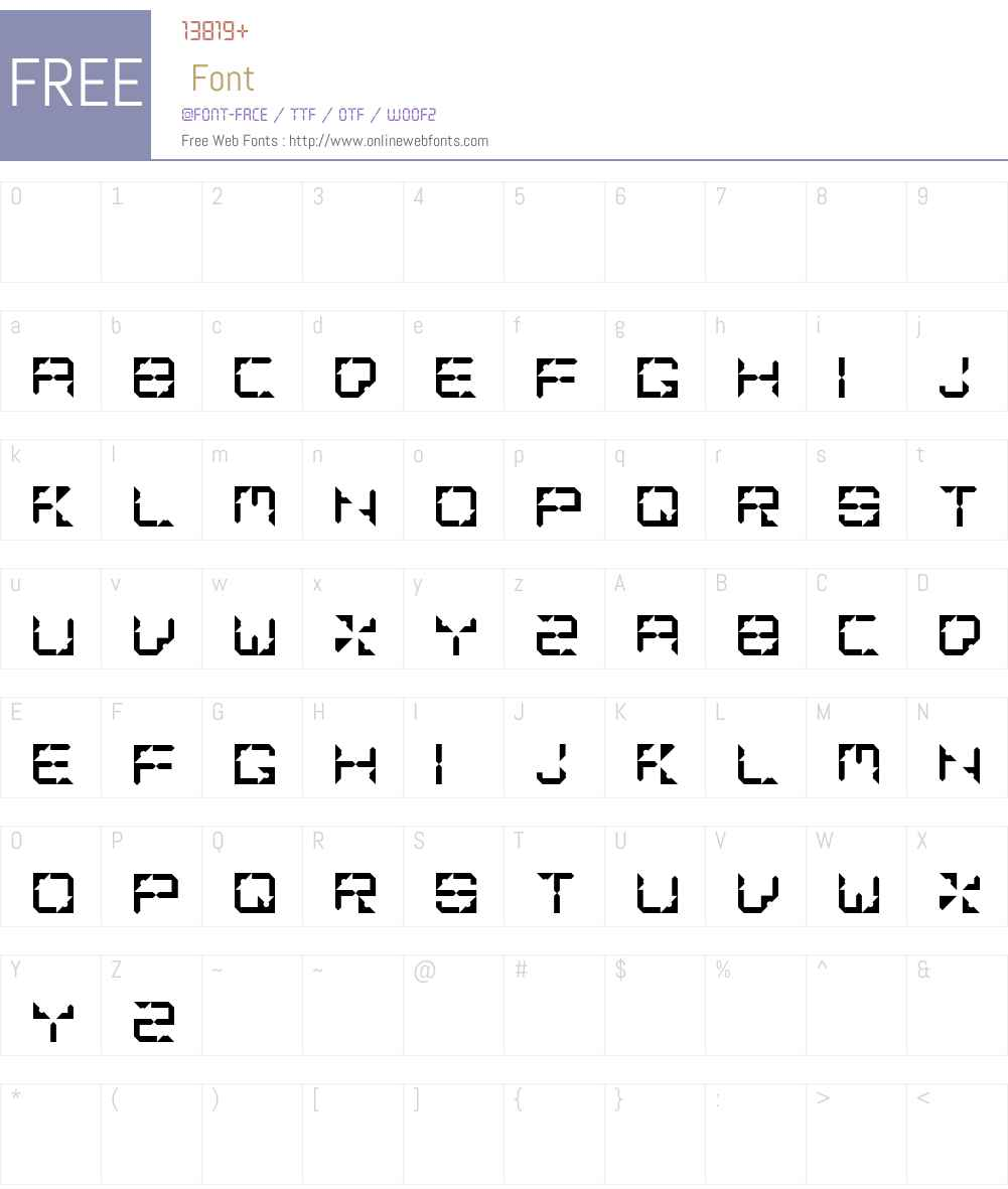 Mashed Potato Font Screenshots