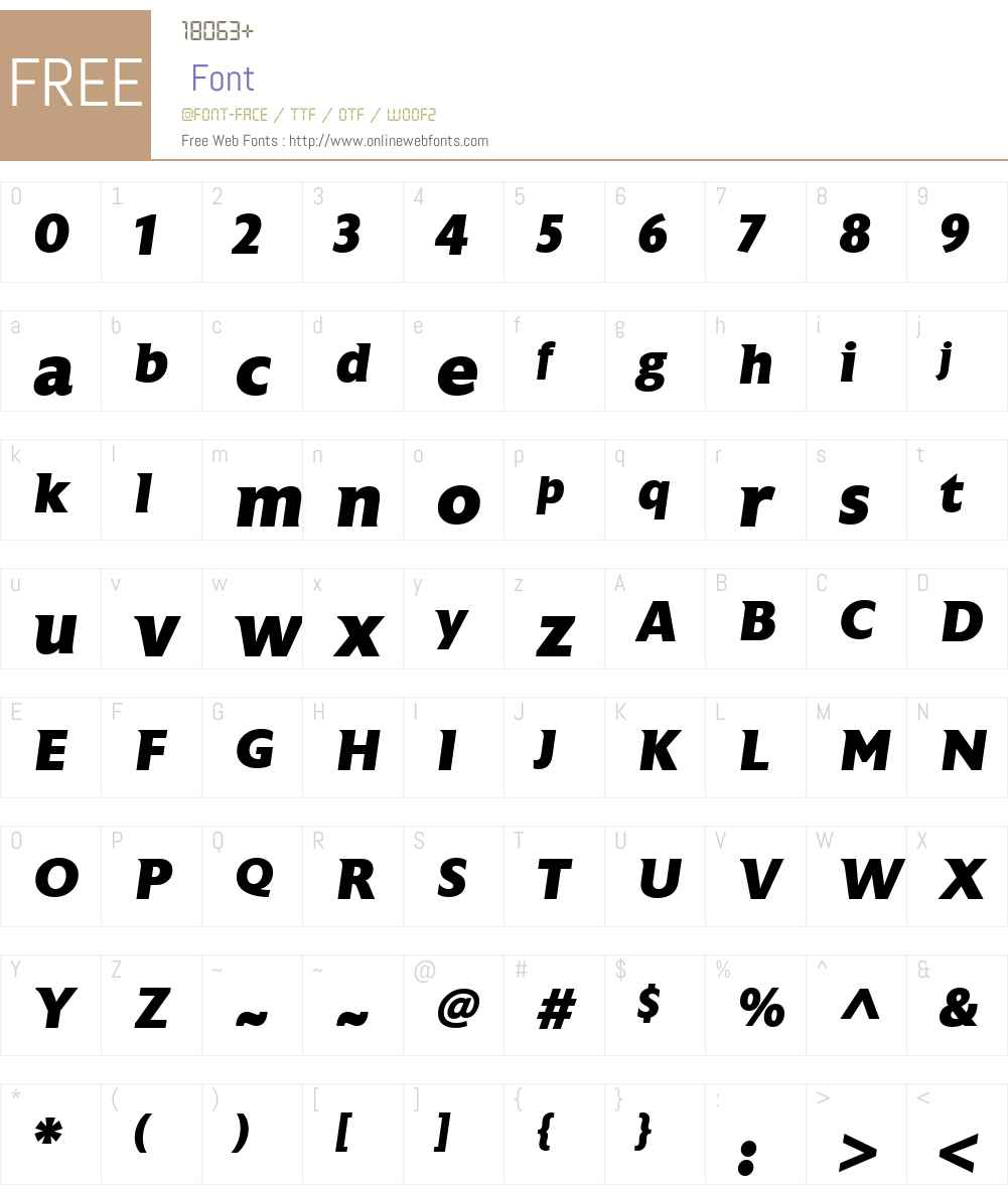 AstoriaW00-ExtraBoldItalic Font Screenshots