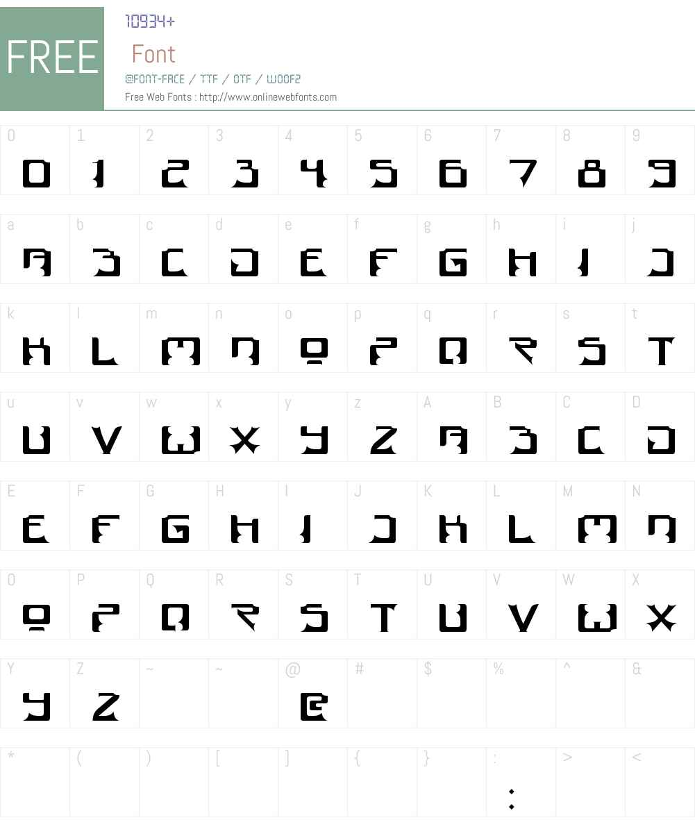 Dogma Font Screenshots