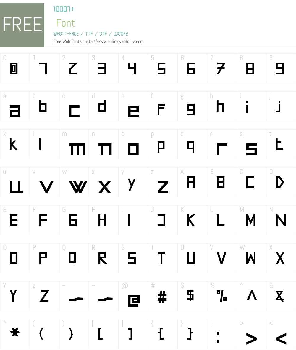 AMOceanus Font Screenshots