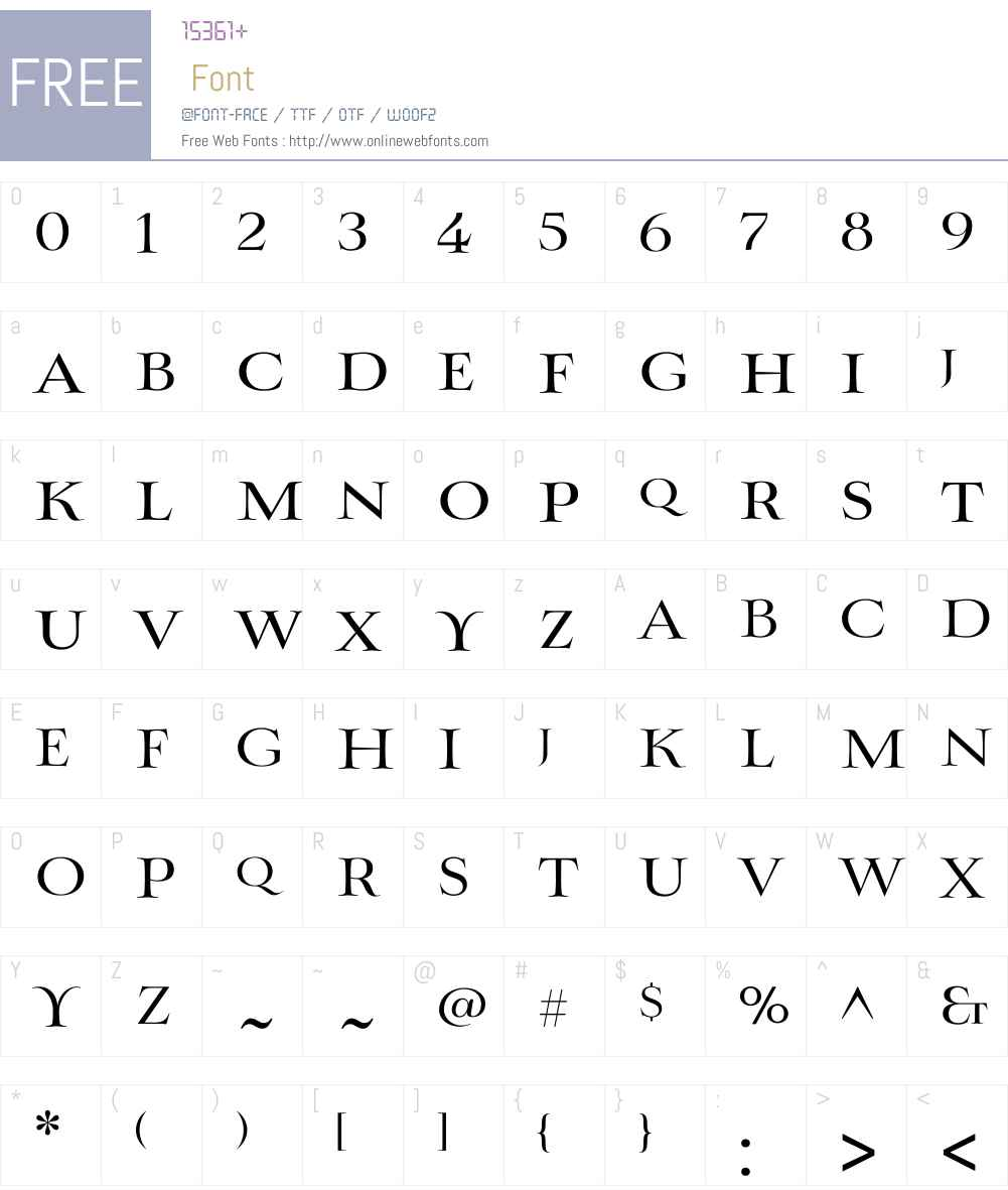 Myanruse Medium Font Screenshots