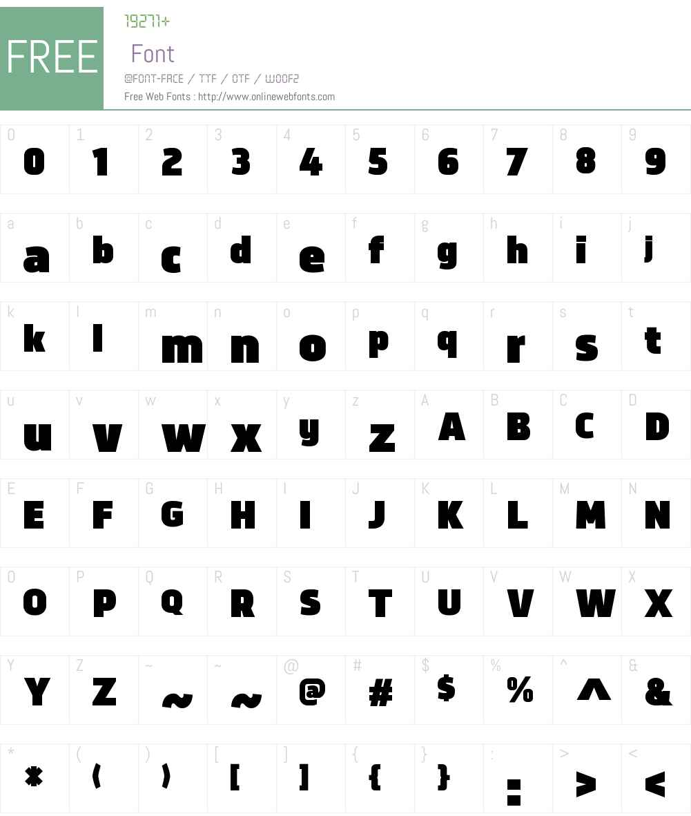 NorpethW00-Ultra Font Screenshots