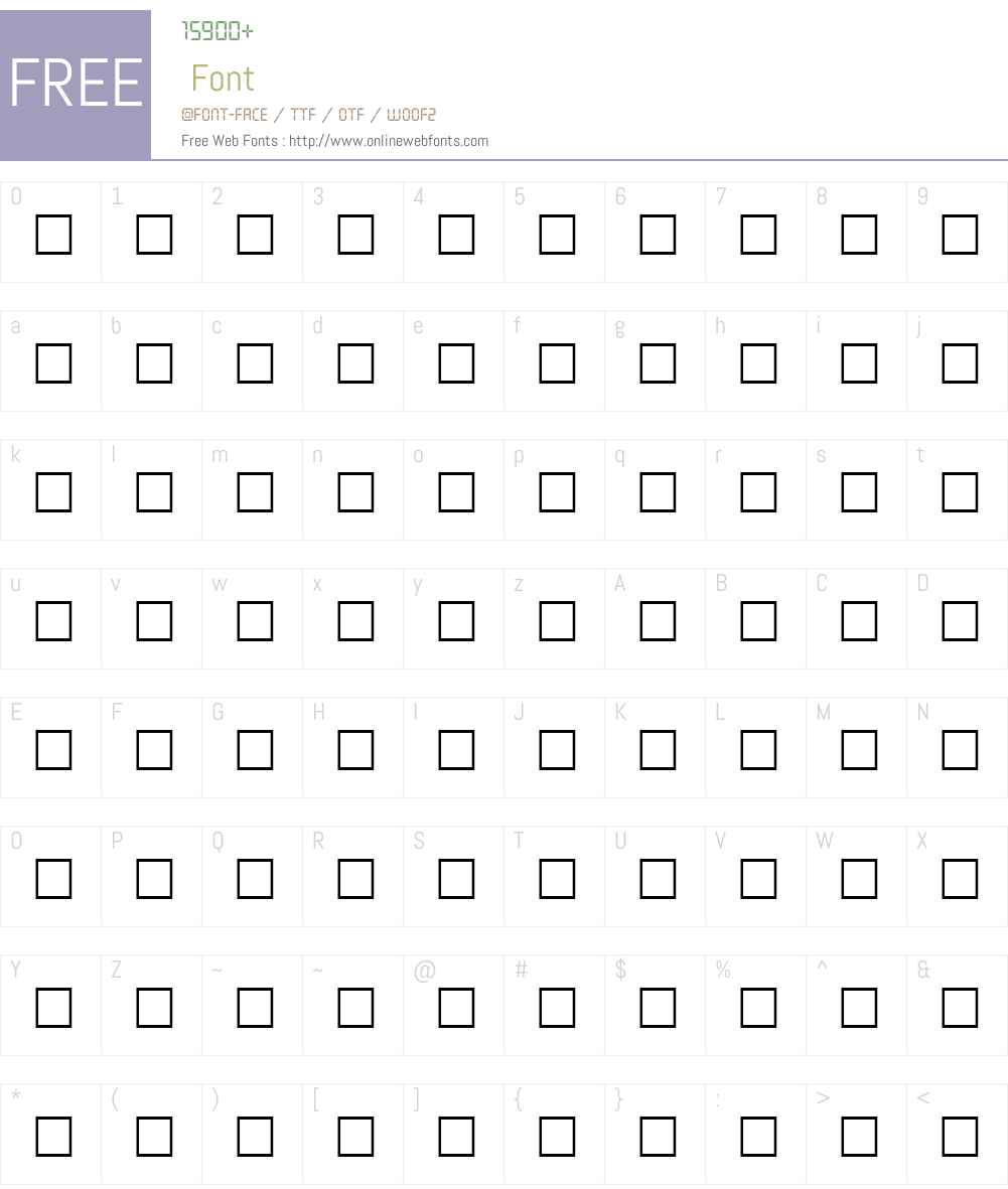CHRISTINA Font Screenshots