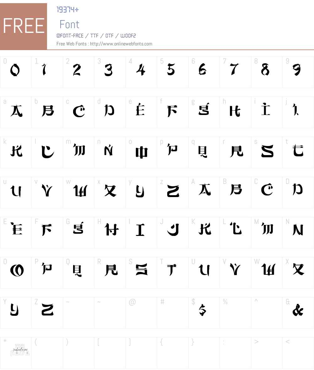 Sumdumgoi Font Screenshots