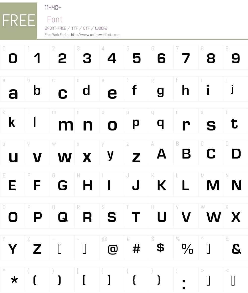 EurostileRoundW00-Bold Font Screenshots