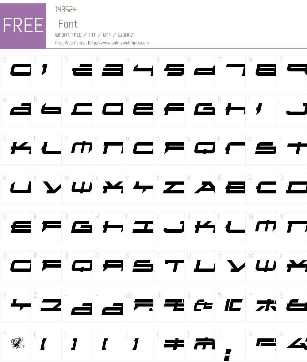Metatron2 Font Screenshots