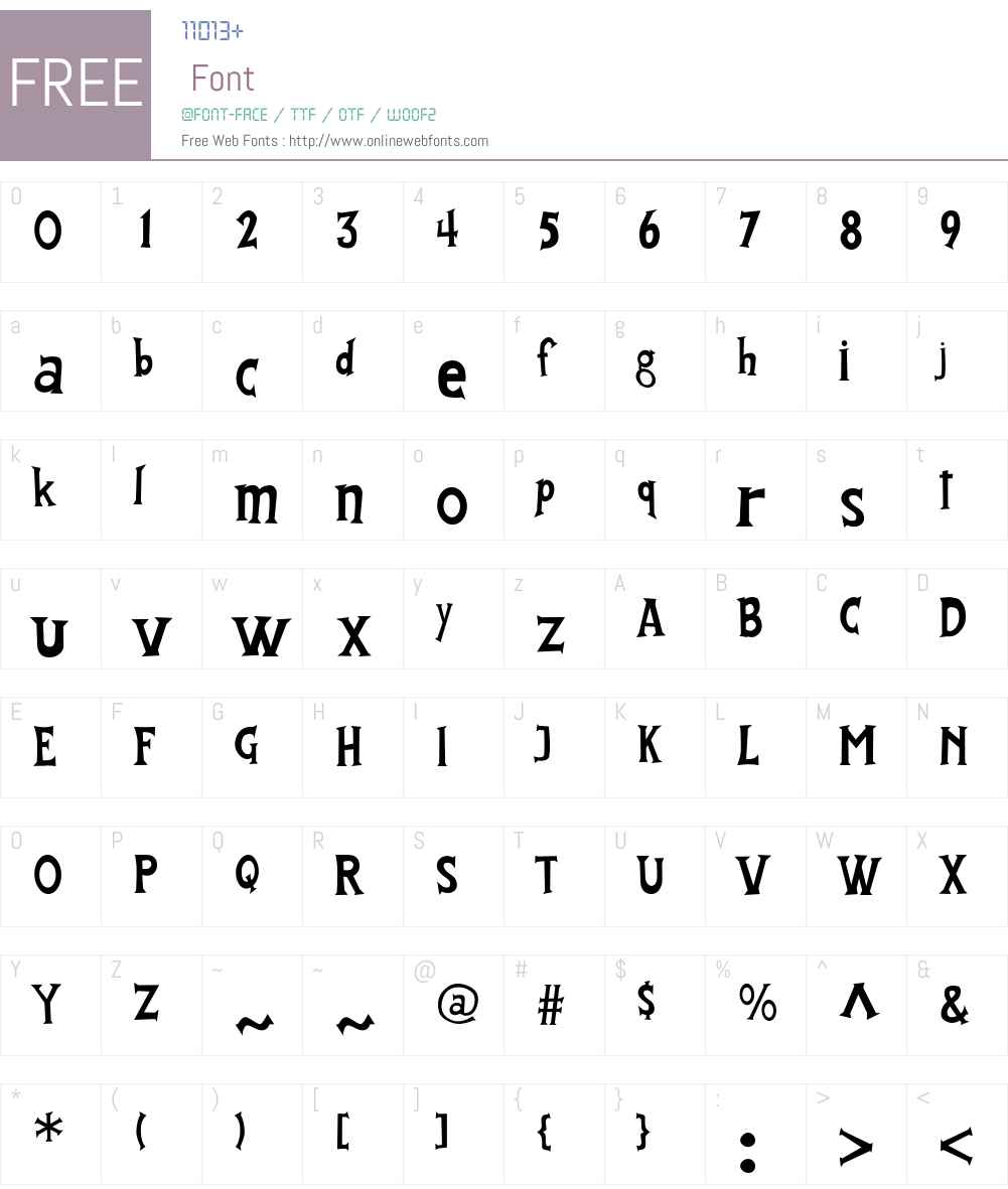 FantastiFont Font Screenshots