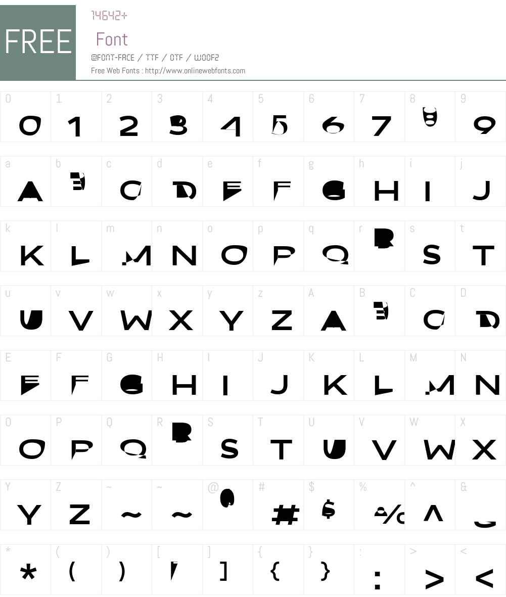 Oui FY Font Screenshots