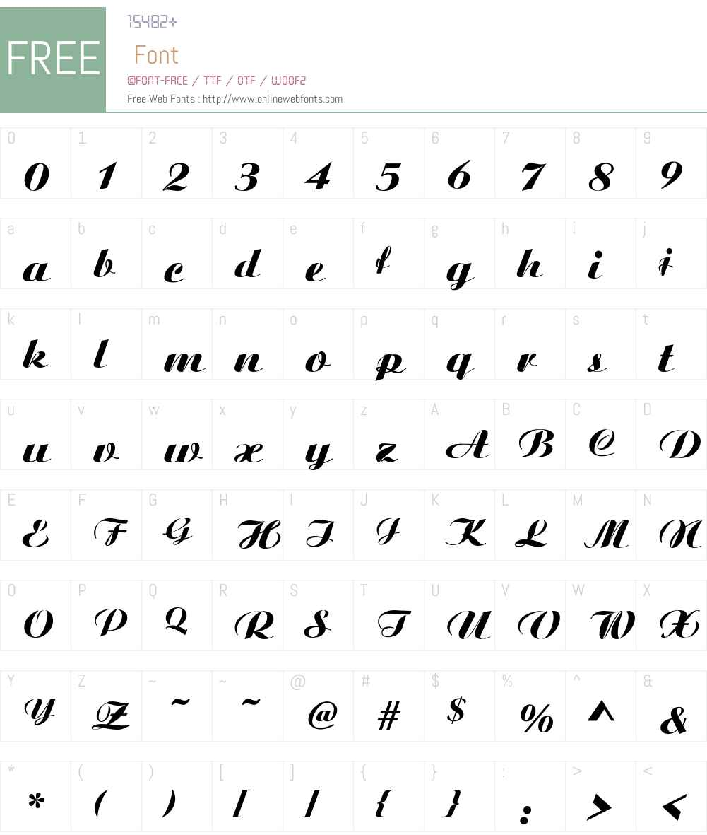 .VnAristote Font Screenshots