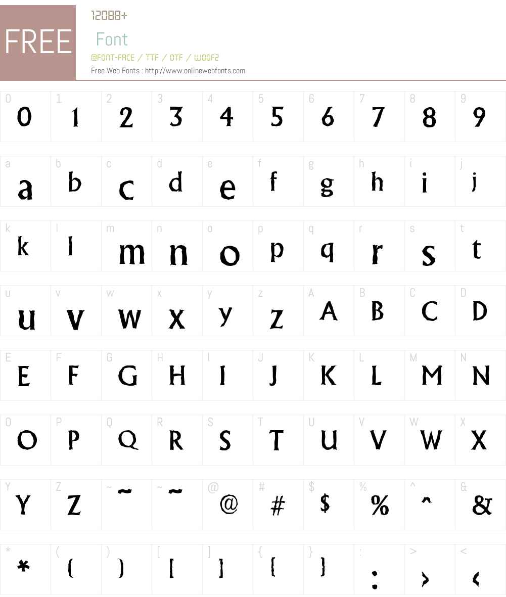 AdelonAntique-Medium Font Screenshots