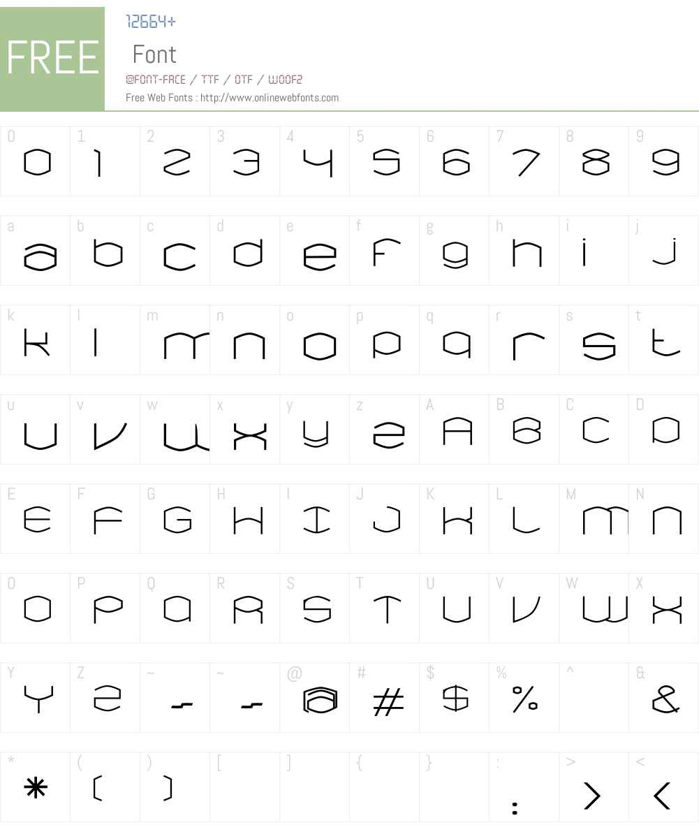 Ned LT Std Font Screenshots