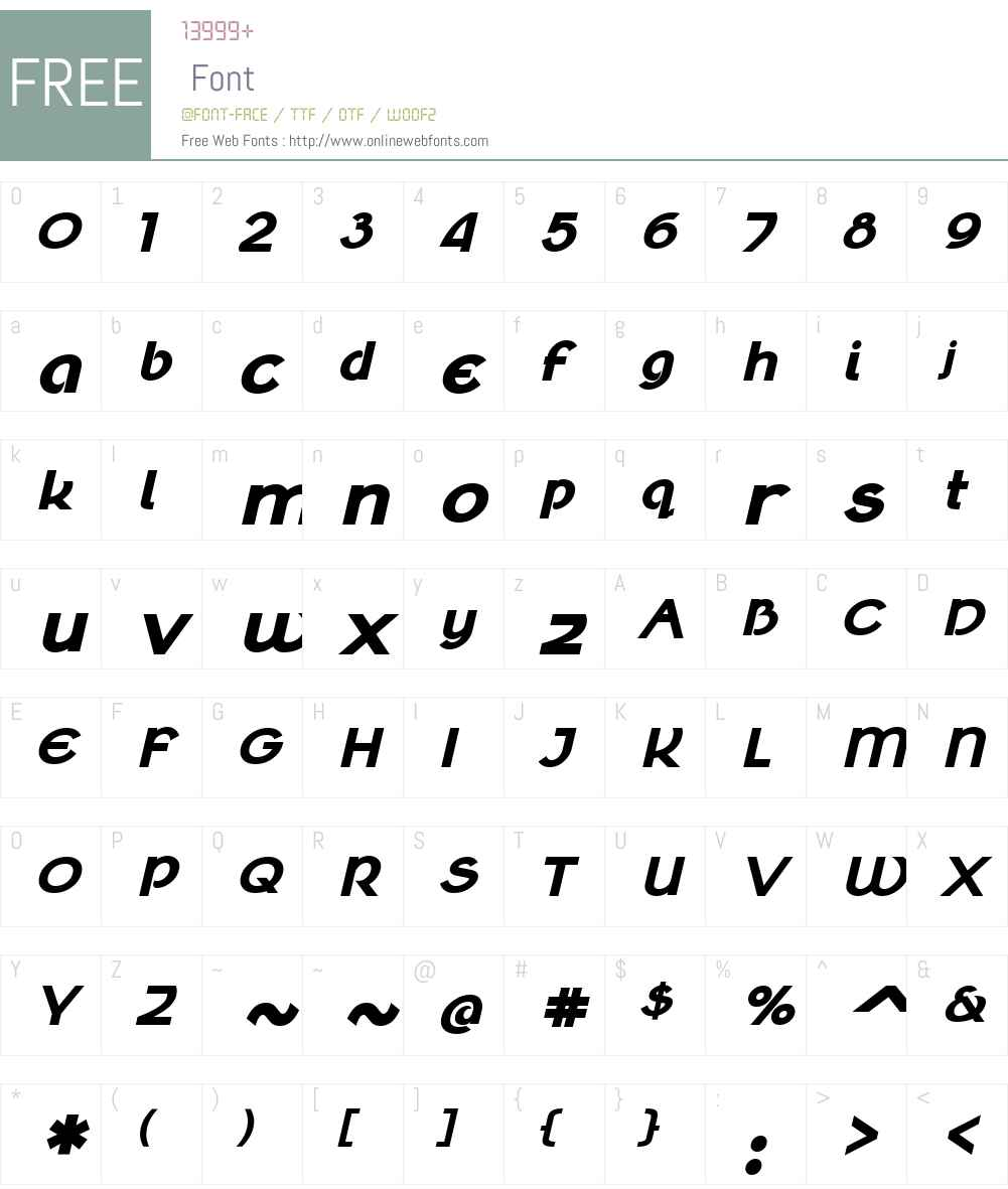 Klaudia Font Screenshots