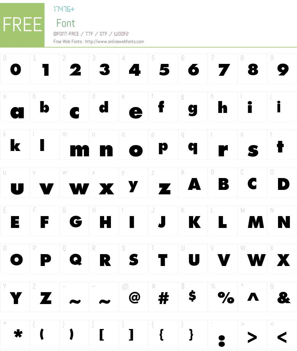 FuturaPTW01-ExtraBold Font Screenshots