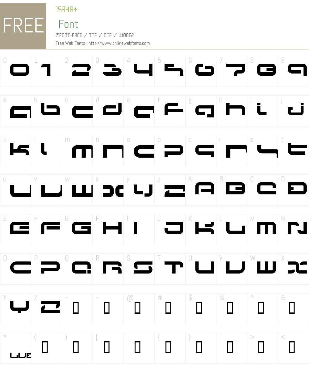 Papicon Font Screenshots