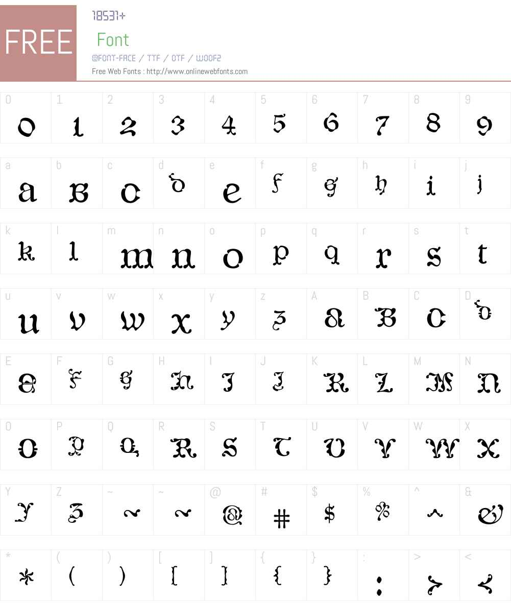 CaligrafiaDeBula Font Screenshots
