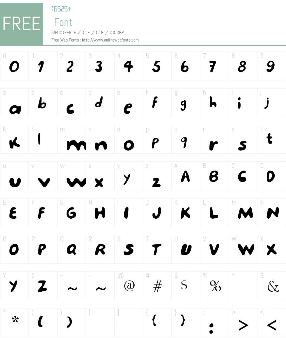 porcupine Font Screenshots