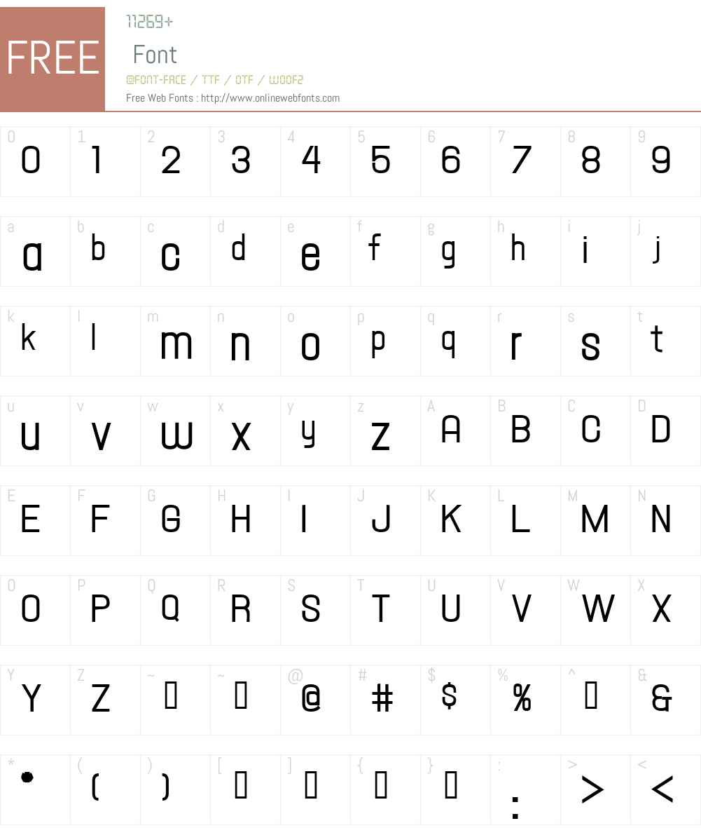 Hallandale Text Demi JL Font Screenshots
