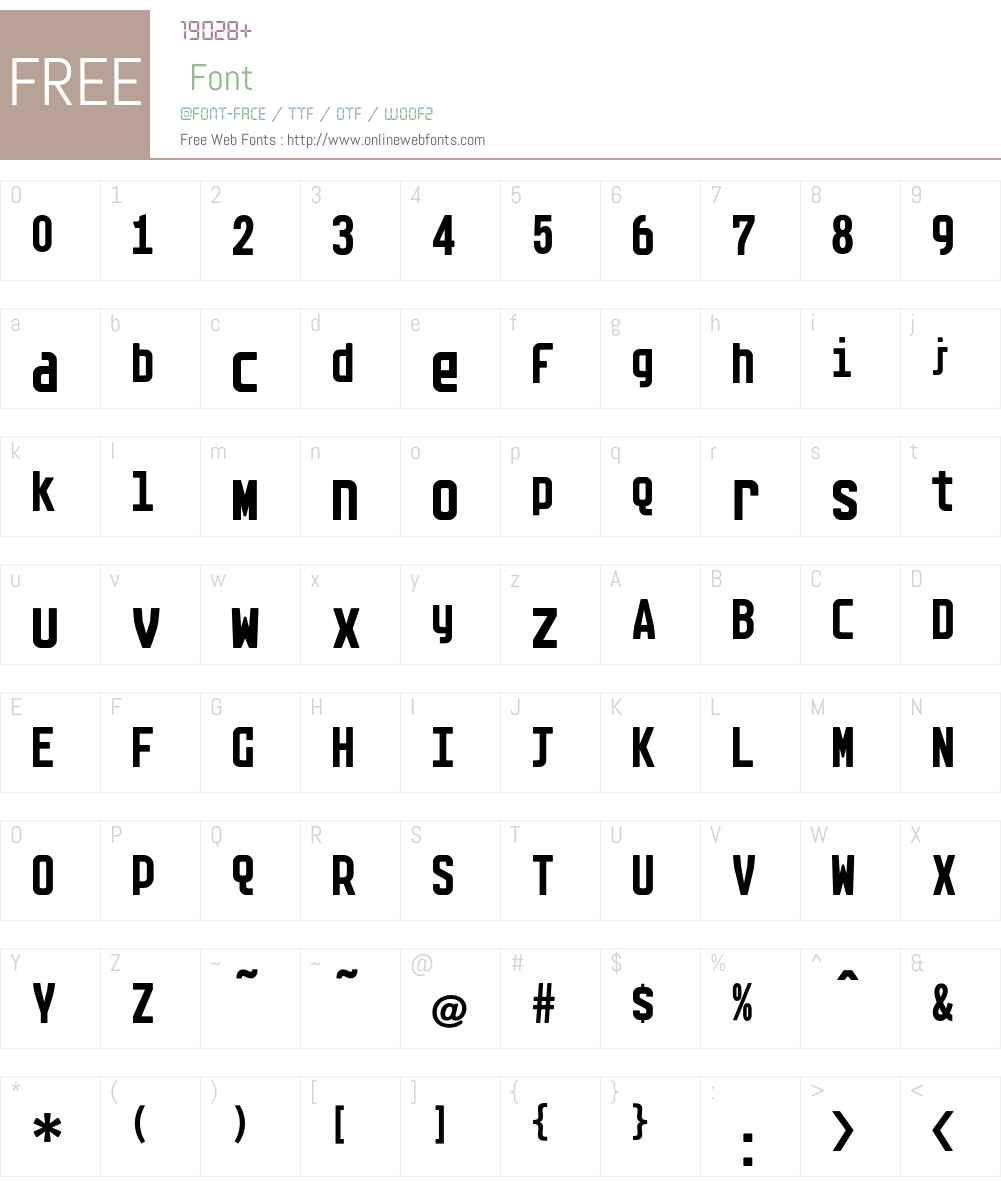 Arete Font Screenshots