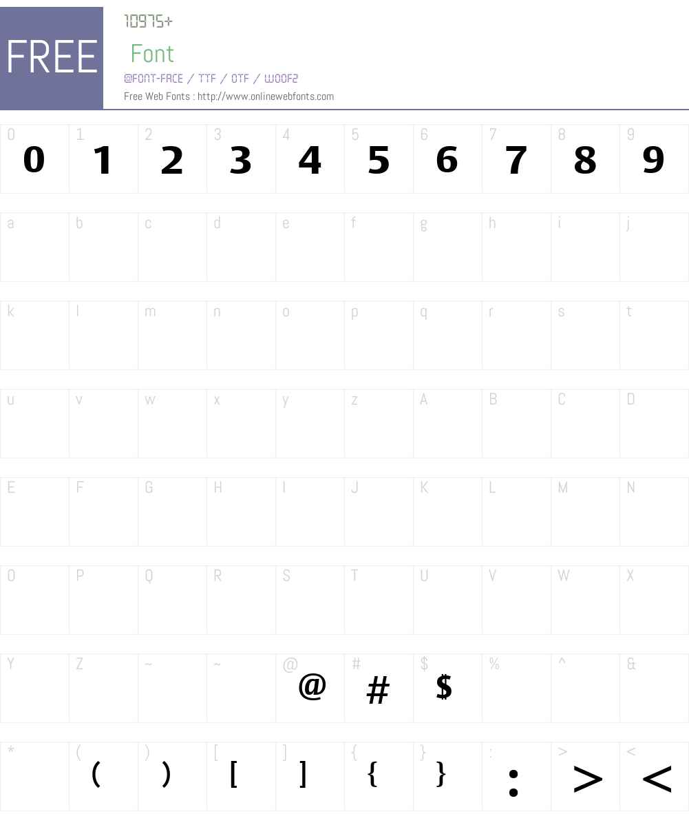 BerytusW23-ExtraBold Font Screenshots