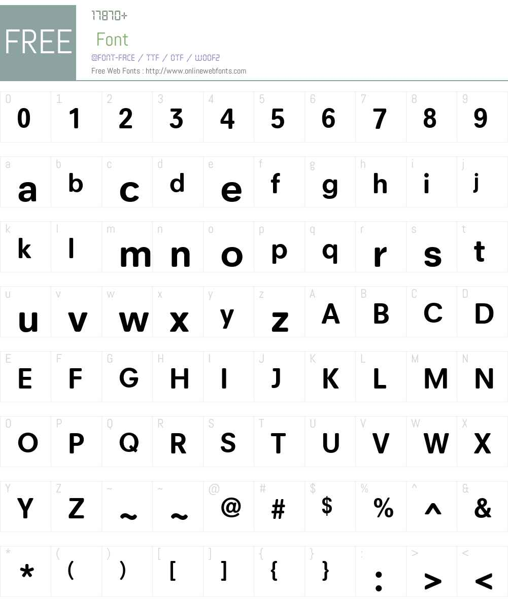Neuzeit Office Soft Rounded Font Screenshots