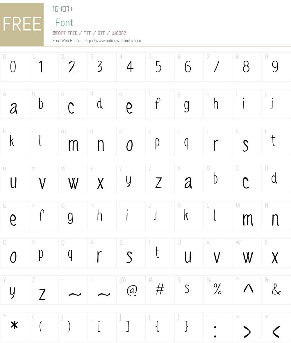 SofiaRoughScriptW01-Regular Font Screenshots