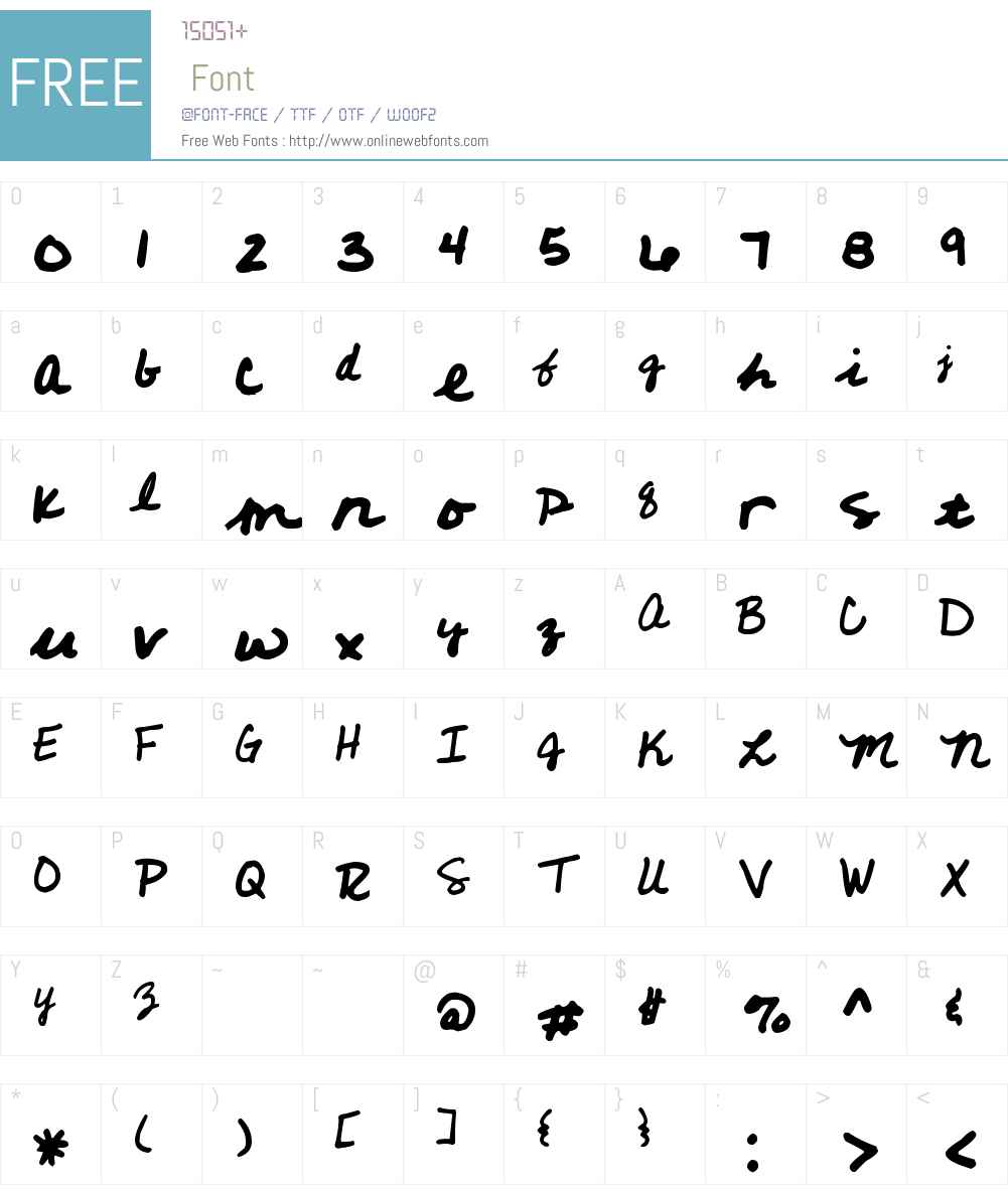 KGD Steph Script Font Screenshots