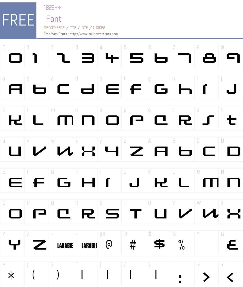Lunasol Sequence Font Screenshots