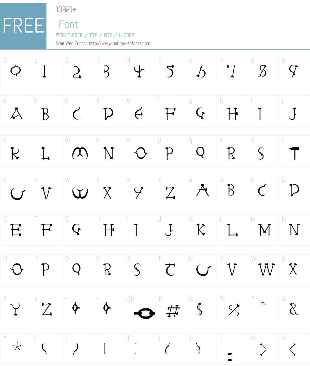 Letterbed-Normal Font Screenshots