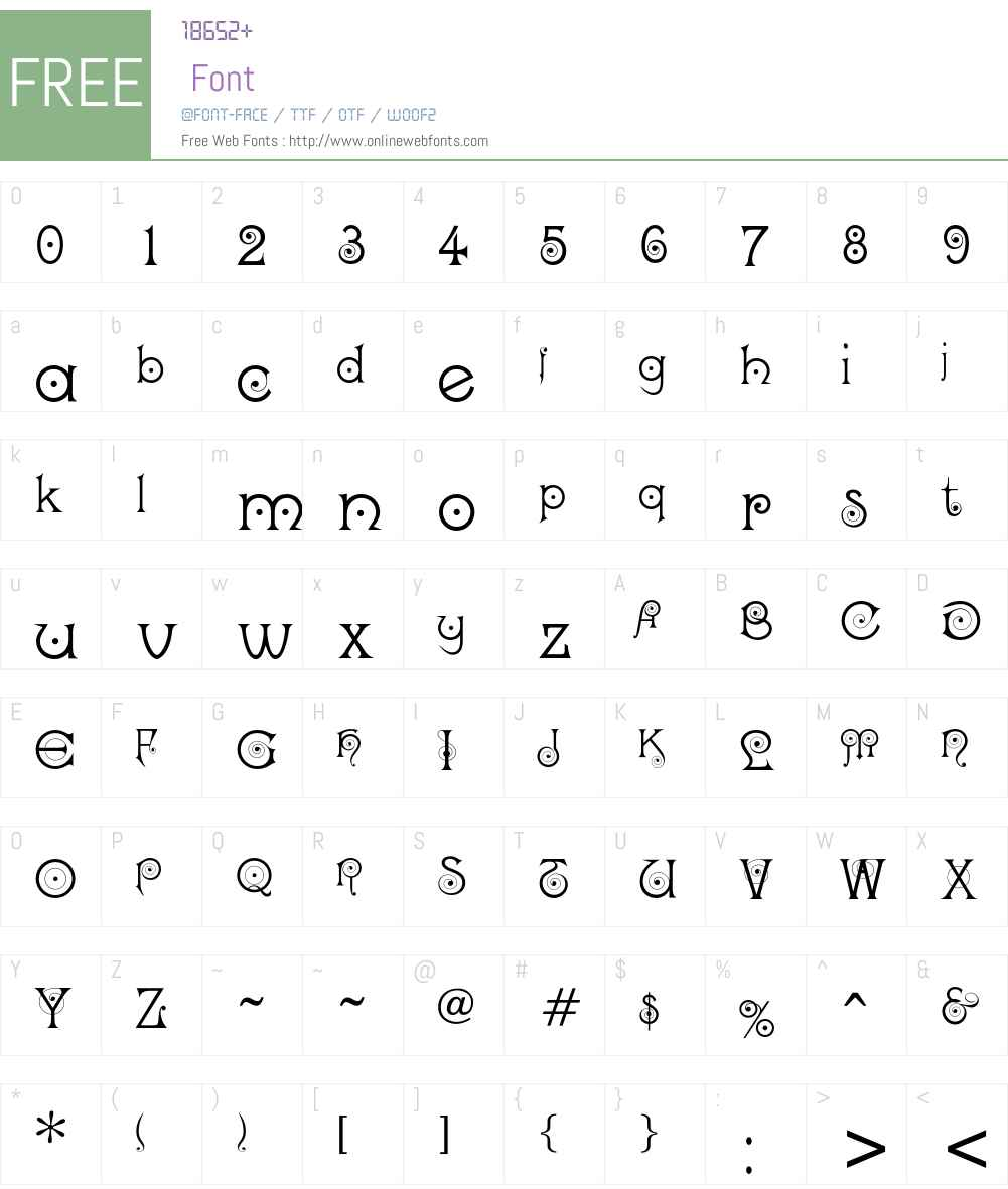 Darling Font Screenshots