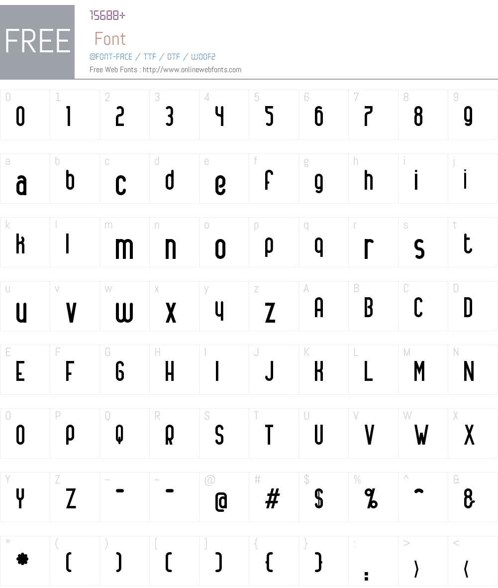 Alanya Font Screenshots