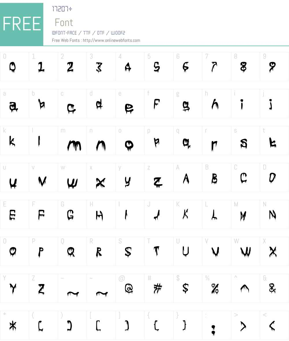 fz-wencang-086 Font Screenshots